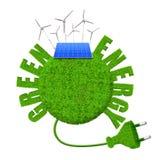 Зеленые концепции энергии стоковая фотография
