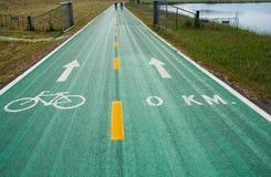 Зеленые майны велосипеда Стоковая Фотография RF
