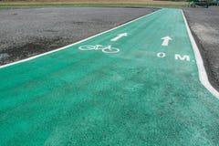 Зеленые майны велосипеда Стоковое Изображение RF