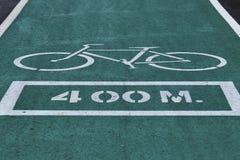 Зеленые майны велосипеда Стоковое Фото