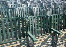 зеленые места рядка Стоковая Фотография