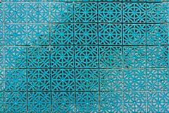 Зеленые модульные пластичные плитки пола Стоковое Фото