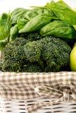 Зеленые овощи закрывают вверх Стоковые Изображения RF