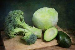 зеленые овощи стоковая фотография