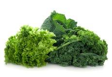 зеленые овощи Стоковое Изображение