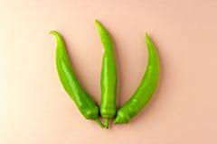 зеленые перцы 3 Стоковая Фотография RF