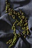 зеленые перчинки стоковое фото
