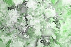 Зеленые пятна, иллюстрация вектора