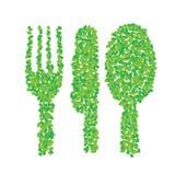 Зеленые утвари Стоковые Изображения RF