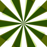 Зеленые лучи природы в движении Стоковые Фото