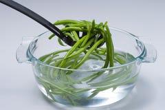 Зеленые фасоли стоковая фотография