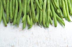 Зеленые фасоли Стоковые Фотографии RF