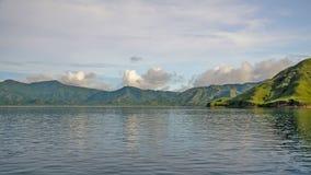Зеленые холмы стоковая фотография rf