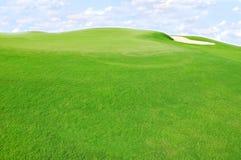 Зеленые холмы Стоковое фото RF