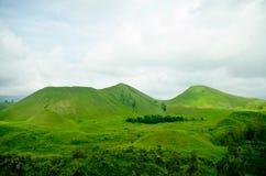 зеленые холмы Стоковое Изображение