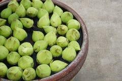 Зеленые цветки лотоса Стоковые Фотографии RF