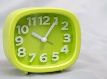 Зеленые часы Стоковое Изображение
