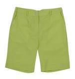 Зеленые шорты Стоковое Изображение