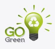 Зеленые энергия и экологичность иллюстрация вектора