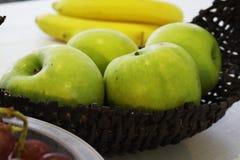 Зеленые яблоки Стоковое Изображение RF