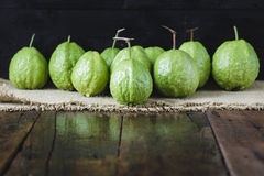 зеленые guavas Стоковое Фото