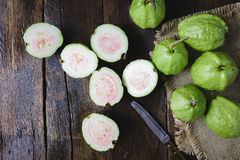 зеленые guavas Стоковые Изображения RF