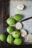 зеленые guavas Стоковые Фото