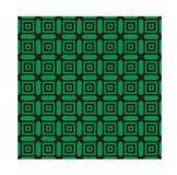 Зеленые monochrome геометрические картины Вектор, EPS 10 Стоковое Изображение