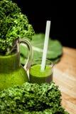 зеленые smoothies Стоковая Фотография RF
