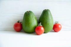 Зеленый авокадо Стоковое Изображение RF
