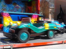 Зеленый автомобиль металла Стоковые Изображения