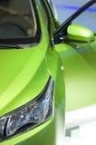 Зеленый автомобиль Стоковые Изображения