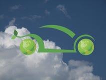Зеленый автомобиль Стоковая Фотография