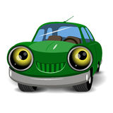 Зеленый автомобиль Стоковая Фотография RF