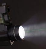 Зеленый лазер Стоковые Изображения RF