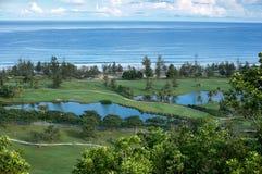 зеленый ландшафт Стоковое фото RF