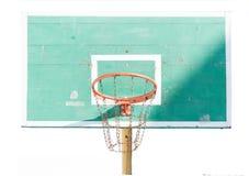 Зеленый баскетбол Стоковая Фотография RF