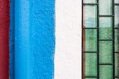 Зеленый, белый, пинк Стоковое Изображение