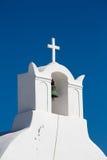 Зеленый бронзовый колокол православной церков церков Стоковое фото RF