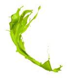 Зеленый выплеск Стоковое Фото