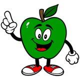 Зеленый говорить Яблока иллюстрация вектора