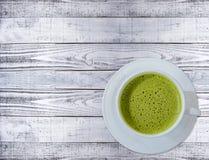 зеленый горячий чай Стоковое Изображение RF