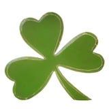 Зеленый деревянный shamrock Стоковые Изображения RF