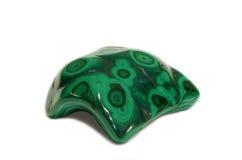 Зеленый естественный малахит стоковое изображение rf