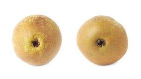 Зеленый изолированный плодоовощ груши Стоковое Изображение