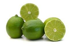 зеленый лимон Стоковая Фотография