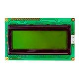 Зеленый дисплей LCD изолированный на белой предпосылке Стоковые Фотографии RF
