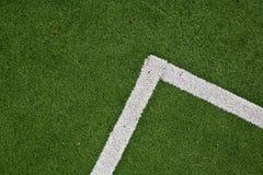 Зеленый и белый угол Стоковые Фотографии RF
