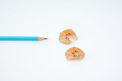 зеленый карандаш Стоковые Изображения
