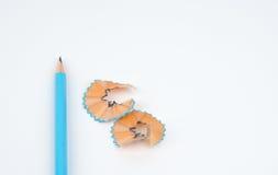 зеленый карандаш Стоковое Фото